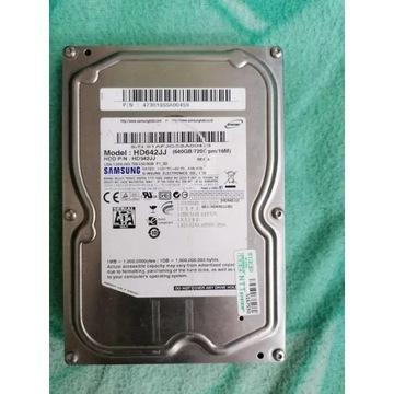 Dysk twardy 640 GB HDD