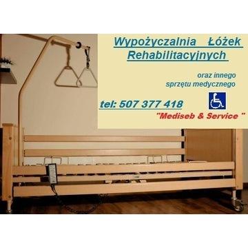 Wypożyczalnia,łóżko rehabilitacyjneWynajemBEZkaucj