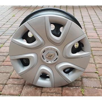Felgi stalowe z kołpakiem 16 cali Renault Captur