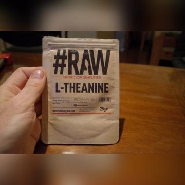 RAW 100% L-THEANINE 25g L-teanina