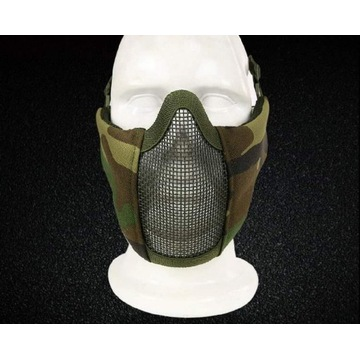 Maska militarna paintball moro Siatka Maskująca