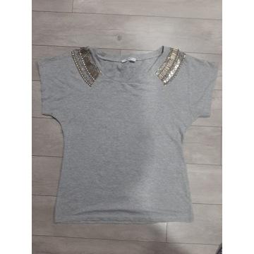 LIU JO r.xs over size szara bluzka nową bez metki