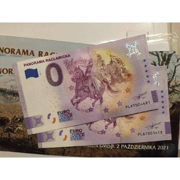 0 euro Panorama Racławicka zwykle + Anniversary
