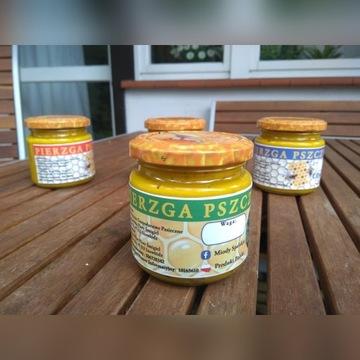 Pierzga pszczela w miodzie
