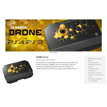 Arcade FightStick Qanba Drone