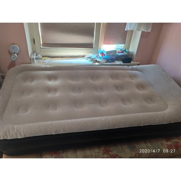 Materac jednoosobowy łóżko pompowane