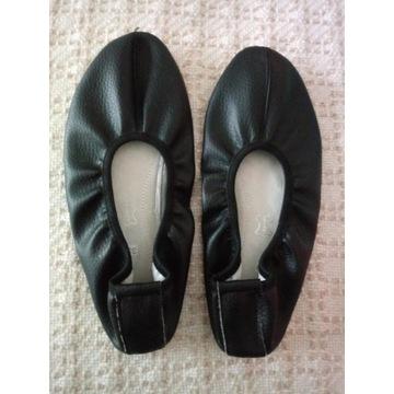 Baletki gimanstyczne, czarne - rozm. 39
