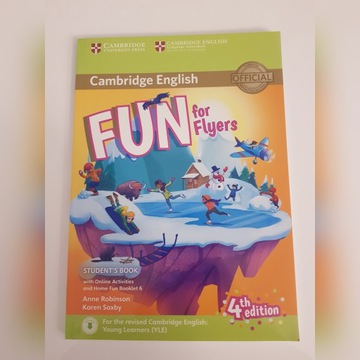 Fun for Flyers 4th edition Student's Book