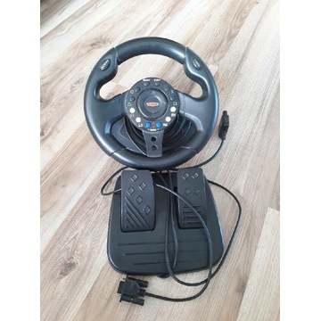 Kierownica sabre z pedałami PlayStation 2 PS2