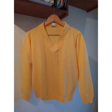 Sweter  PAOLA   żółty    42