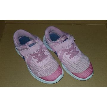 Buty NIKE piękne różowe jak nowe R 31,5 wkład 20cm