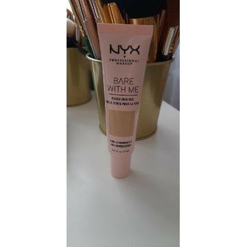 Podkład NYX Bare with me tinted veil vanilla nude