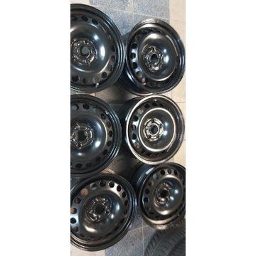 Felga stalowa 16 ET 41 5x105 Opel Astra czujniki