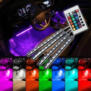 Lampki LED do samochodu Car atmosphere light