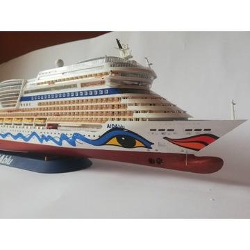Model statku wycieczkowego AIDAblu