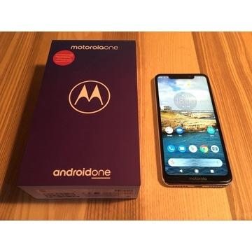 GWARANCJA Motorola One 4/64GB LTE Dual SIM NFC GPS