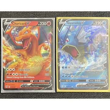 Pokemon TCG zestaw  charizard gyarados