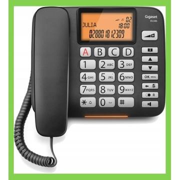 Telefon GIGASET DL580 Czarny