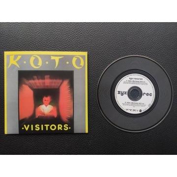 KOTO - Visitors - MAXI CD - Spacesynth\Italo Disco
