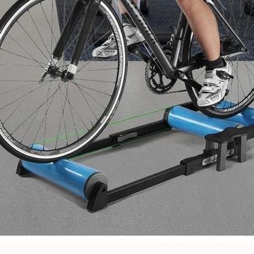Trenażer kolarski - platforma rolkowa