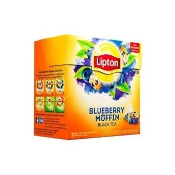 lipton blueberry muffin jagodowa nowa 2020 herbata