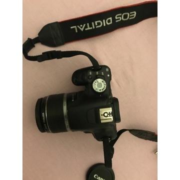 Canon eos 500d + Obiektyw 18-55