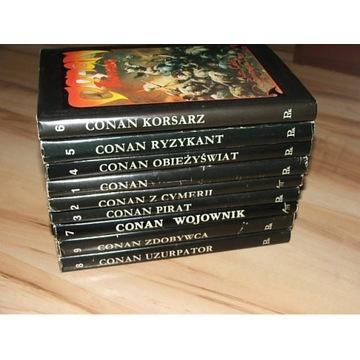CONAN 1-9 Howard Lin Camp W-wa