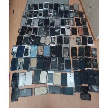 Zestaw telefonów i części gms