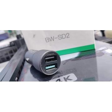 Ładowarka blitzwolf bd sd2 quickcharge 3.0 USB and