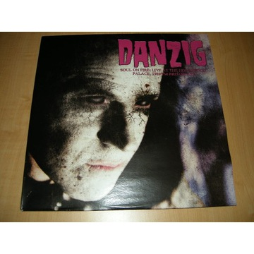 DANZIG -SOLU ON FIRE - LIVE AT THE HOLLYWOOD - LP
