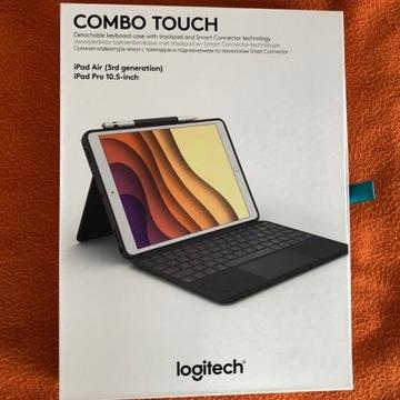 Logitech klawiatura etui: iPad Air 3gen, Pro 10,5