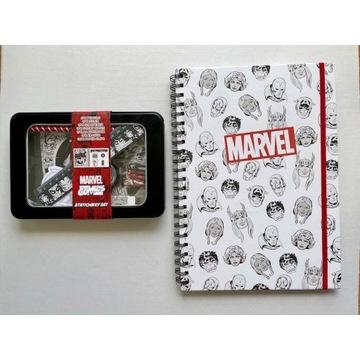 Zestaw szkolny Marvel Avengers nowy zeszyt piórnik