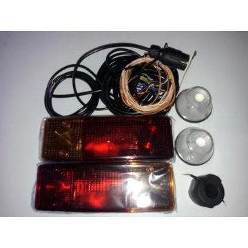 Instalacja elektryczna oświetleniowa lampy przycze