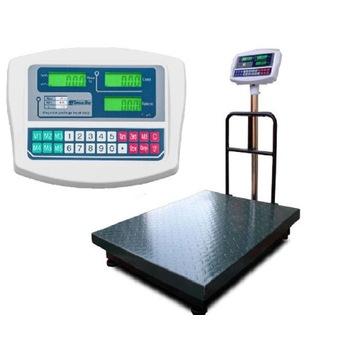 Waga sklepowa elektroniczna 600kg 60x80 rolnicza