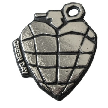 pin button przypinka metalowa Green Day