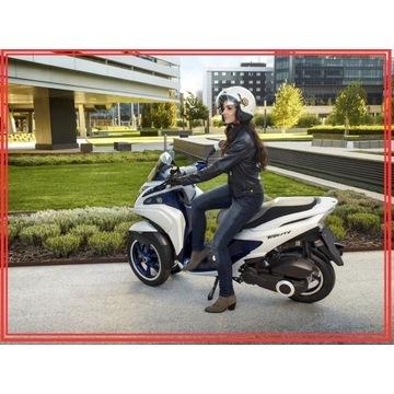 YAMAHA TRICITY 125cc, 2019km licznik,z salonu Sz-n
