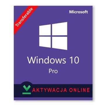Aktywacja ONLINE! Windows 10 PRO 32/64 Bit Klucz!