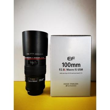 Obiektyw Canon EF 100mm f/2.8L Macro IS USM