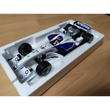 BMW Sauber F1.06 Villeneuve, Kubica 2006  1:18