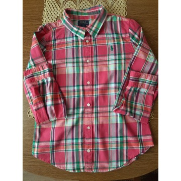 Koszula damska w kratkę polo ralph lauren