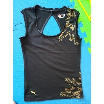 PUMA koszulka top fitness czarna XS 34