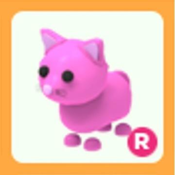 Roblox Adopt Me Pink Cat R