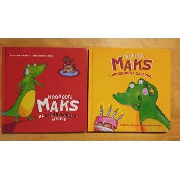 Krokodyl Maks urodzinowa + na czekoladowej wyspie