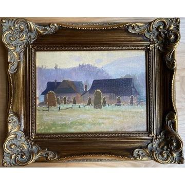 Marian F. SŁONECKI (18861969), piękny obraz olejny