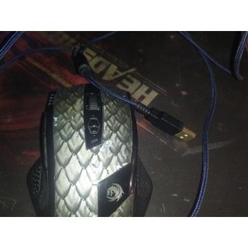 Myszka gamingowa Sharkoon Drakonia (czarna)
