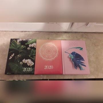 Kalendarze b6 twarde okładki 2020