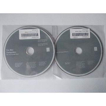Mac OS X Tiger płyty DVD x86