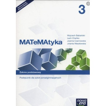 Matematyka 3 zakres podstawowy Nowa Era PDF
