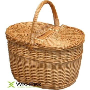 kosz piknikowy wiklinowy Wik-Pex READY NOWY piknik