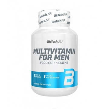 BIOTECH MULTIVITAMIN FOR MEN 60 tabs MULTIWITAMINY